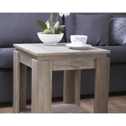 Canyon Oak Lamp Table