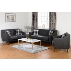 Ashley 3 + 2 + 1 Fabric Sofa Set