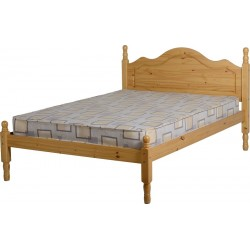 Sol 4ft 6inch Double Bed in Antique Pine