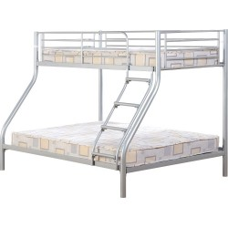 Tandi Triple Sleeper Bunk Bed In Sliver