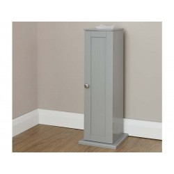 COLONIAL TOILET ROLL CUPBOARD IN GREY