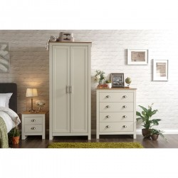 LANCASTER 3 Piece Bedroom Set IN Cream
