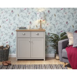 LANCASTER Compact Sideboard In Grey