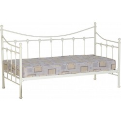 Torino Day Bed in Cream- Brixton Beds