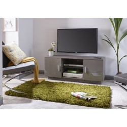 Lima High Gloss TV Unit Grey