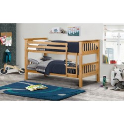 Barcelona Pine Wooden Bunk Bed