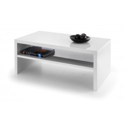 Metro High Gloss Coffee Table - White