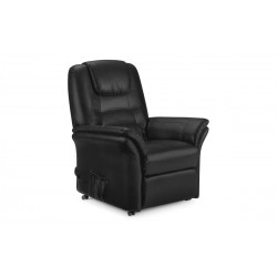 Riva Rise & Recline Chair - Black