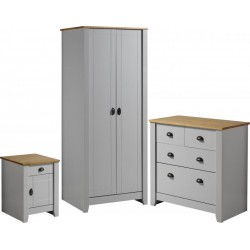 Ludlow Trio in Grey/Oak Lacquer