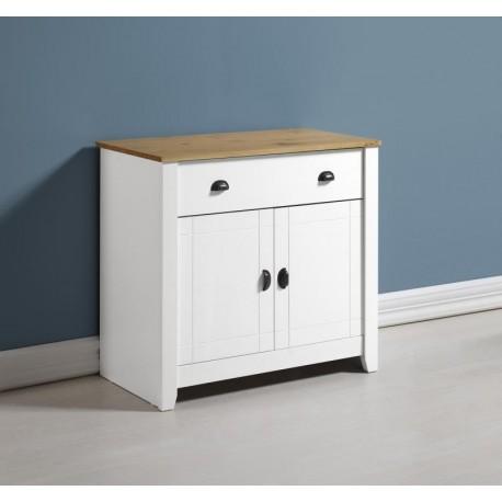 Ludlow Sideboard in White/Oak Lacquer