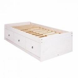 Corona White Cabin Bed