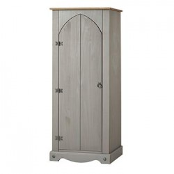 Corona Grey Vestry Cupboard