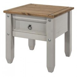 Corona Grey Lamp Table
