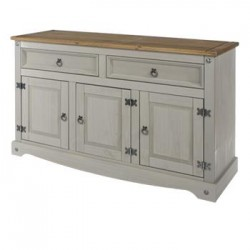 Corona Grey Medium Sideboard