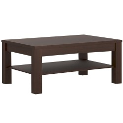 Imperial Coffee Table in Dark Mahogany Melamine