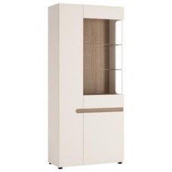 Chelsea Living Tall Glazed Wide Display unit
