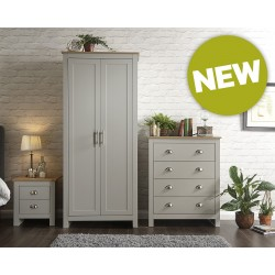 LANCASTER 3 Piece Bedroom Set In Grey