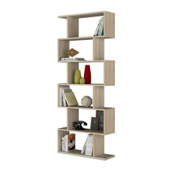 Zing Oak Effect Large Bookcase