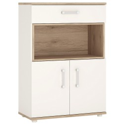 4KIDS 2 door 1 drawer cupboard