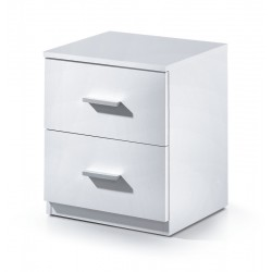 Madrid White Gloss Bedside