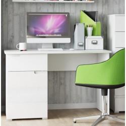 Santino White Gloss Computer Desk S14
