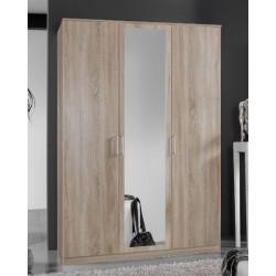 Venice Oak Effect 3 Door Wardrobe
