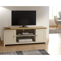 LANCASTER Large TV Unit In Cream
