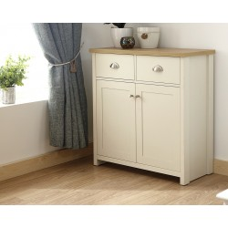 LANCASTER Compact Sideboard In Cream