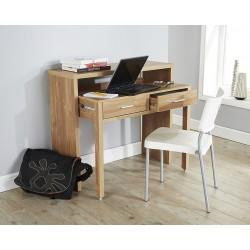 REGIS Extending Desk / Console Table In Oak