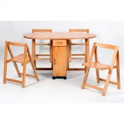 Butterfly Drop Leaf Dining Set
