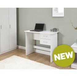 PANAMA 2 Drawer Desk In White