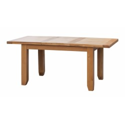 Acorn Solid Oak Extending Dining Table Large