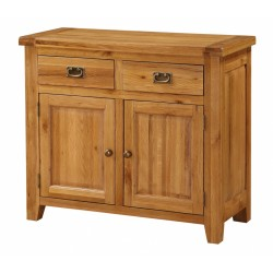 Acorn Solid Oak Sideboard Small 2 Doors & 2 Drawers