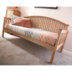 MADRID WOODEN DAY BED ONLY OAK