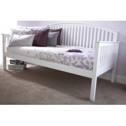 MADRID WOODEN DAY BED ONLY WHITE