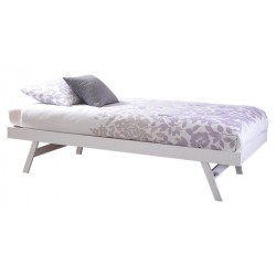 MADRID WOODEN TRUNDLE ONLY WHITE