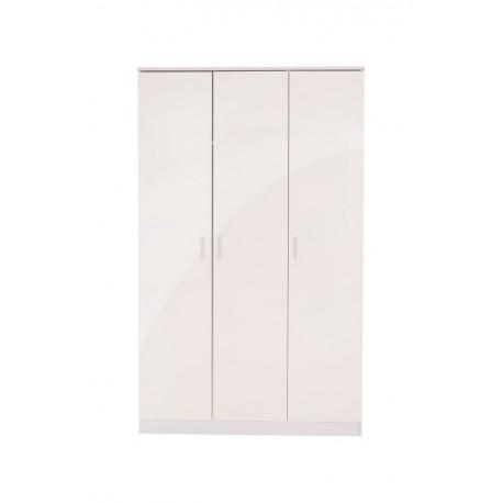 OTTAWA 3 Door Wardrobe In White