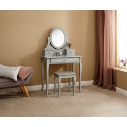 GRACE LED DRESSING TABLE GREY