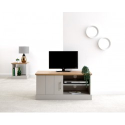 KENDAL SMALL TV UNIT GREY