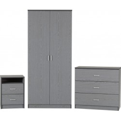 Felix Bedroom Set Grey