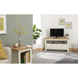LANCASTER CORNER TV UNIT CREAM
