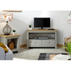 LANCASTER CORNER TV UNIT GREY
