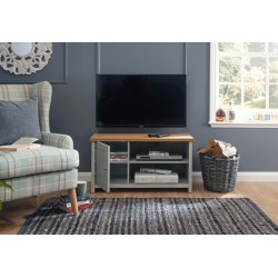 LANCASTER SMALL TV CABINET GREY