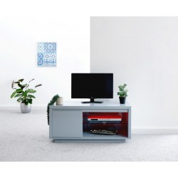 POLAR HIGH GLOSS LED TV UNIT GREY