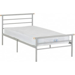 Orion 3' Bed Silver Brixton Beds