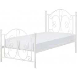 Annabel 3' Bed White Brixton beds