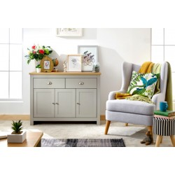 LANCASTER LARGE SIDEBOARD GREY