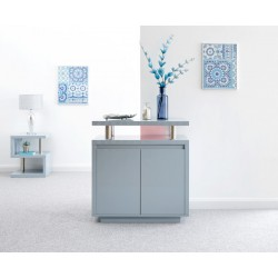 POLAR HIGH GLOSS LED SIDEBOARD GREY