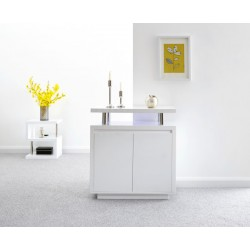 POLAR HIGH GLOSS LED SIDEBOARD WHITE