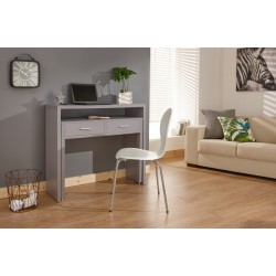 REGIS EXTENDING CONSOLE DESK GREY